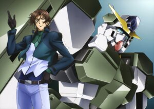 Rating: Safe Score: 7 Tags: chiba_michinori gundam gundam_00 gundam_00:_a_wakening_of_the_trailblazer gundam_zabanya lockon_stratos lyle_dylandy male mecha ootsuka_ken User: Zarbaj