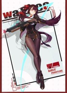 Rating: Safe Score: 42 Tags: girls_frontline guernical gun pantyhose uniform wa2000_(girls_frontline) User: Dreista