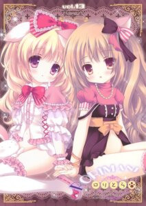 Rating: Questionable Score: 41 Tags: animal_ears inumimi loli nopan roritora thighhighs tsukishima_yuuko User: crim
