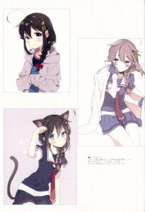 Rating: Safe Score: 0 Tags: animal_ears kantai_collection nekomimi seifuku shigure_(kancolle) tagme tail User: kiyoe