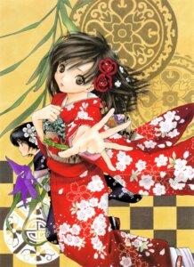 Rating: Safe Score: 9 Tags: ichigo_100 kawashita_mizuki kimono minamito_yui toujou_aya User: Radioactive