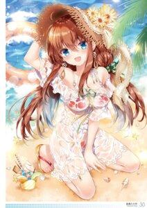 Rating: Questionable Score: 54 Tags: dress nogi_takayoshi see_through summer_dress wet_clothes User: kiyoe