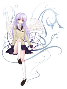 Rating: Safe Score: 23 Tags: angel_beats! nashonari seifuku tenshi wings User: aihost