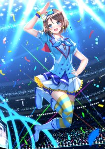 Rating: Safe Score: 28 Tags: love_live!_sunshine!! swordsouls thighhighs watanabe_you User: Mr_GT