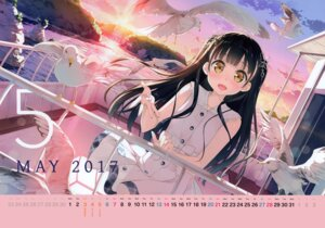 Rating: Safe Score: 78 Tags: 5_nenme_no_houkago calendar dress kantoku nagisa_(kantoku) User: Hatsukoi