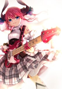 Rating: Questionable Score: 5 Tags: dress elizabeth_bathory fate/grand_order guitar horns pointy_ears tagme User: BattlequeenYume