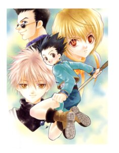 Rating: Safe Score: 6 Tags: adumi_tohru gon_freecs hunter_x_hunter killua_zaoldyeck kurapika leorio male screening User: Riven