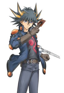 Rating: Safe Score: 12 Tags: fudou_yuusei male yugioh yugioh_5d's User: charunetra