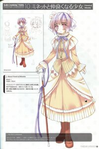 Rating: Safe Score: 6 Tags: character_design ko~cha miriam_(campanella) profile_page shukufuku_no_campanella sketch User: admin2