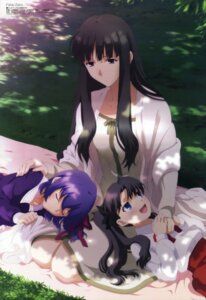 Rating: Safe Score: 49 Tags: fate/stay_night fate/zero matou_sakura toosaka_aoi toosaka_rin yamazaki_miki User: Jigsy