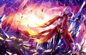 Rating: Safe Score: 57 Tags: bodysuit guilty_crown ikasemih thighhighs yuzuriha_inori User: WhiteExecutor