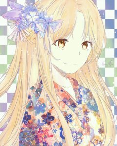 Rating: Safe Score: 39 Tags: asuna_(sword_art_online) kimono sword_art_online tagme User: 115117