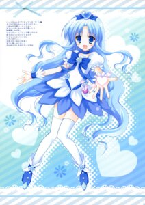 Rating: Safe Score: 34 Tags: cascade dress hasekura_chiaki heartcatch_pretty_cure! kurumi_erika pretty_cure thighhighs User: fireattack