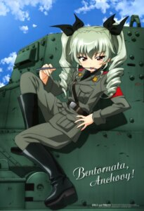 Rating: Safe Score: 34 Tags: anchovy girls_und_panzer itou_takeshi uniform User: PPV10