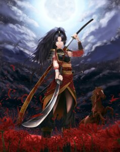 Rating: Safe Score: 16 Tags: sword torn_clothes wolfedge User: charunetra
