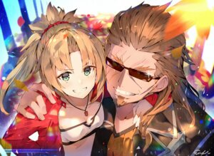 Rating: Safe Score: 20 Tags: cleavage fate/apocrypha fate/stay_night megane mordred_(fate) sisigou_kairi User: AnoCold