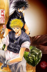 Rating: Safe Score: 2 Tags: amano_ginji ayamine_rando get_backers male mido_ban User: charunetra