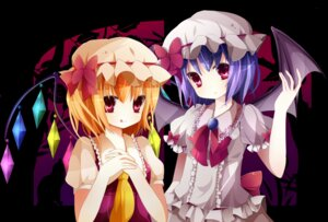 Rating: Safe Score: 13 Tags: flandre_scarlet rairateru remilia_scarlet touhou wings User: Nekotsúh