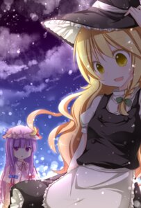 Rating: Safe Score: 20 Tags: horon kirisame_marisa patchouli_knowledge touhou User: Manabi
