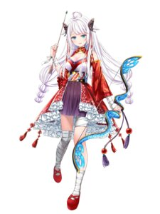 Rating: Safe Score: 22 Tags: akasaka_asa bandages cleavage houchi_shoujo japanese_clothes weapon User: Dreista