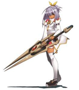 Rating: Safe Score: 6 Tags: gakuen_toshi_vara_noir hirano_katsuyuki idea_factory nora-nora seifuku sword thighhighs User: Radioactive
