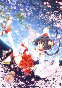 Rating: Safe Score: 28 Tags: kaishaku miko thighhighs User: Bulzeeb