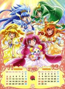 Rating: Safe Score: 6 Tags: aoki_reika calendar candy_(smile_precure) hino_akane hoshizora_miyuki kawamura_toshie kise_yayoi midorikawa_nao pretty_cure smile_precure! User: Radioactive