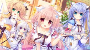 Rating: Safe Score: 99 Tags: ame_to_yuki game_cg haru_(karenai_sekai_to_owaru_hana) karenai_sekai_to_owaru_hana kotose_(karenai_sekai_to_owaru_hana) ren_(karenai_sekai_to_owaru_hana) sweet&tea waitress yukina_(karenai_sekai_to_owaru_hana) User: OnePaper