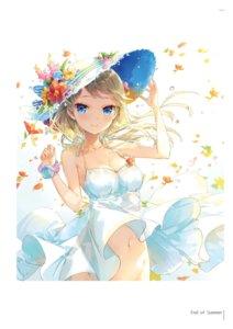 Rating: Questionable Score: 39 Tags: dress fuumi skirt_lift summer_dress User: Twinsenzw