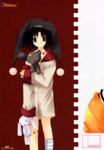 Rating: Safe Score: 9 Tags: akane_makes_revolution bandages ikegami_akane pajama undressing User: MirrorMagpie