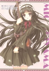 Rating: Safe Score: 11 Tags: akiyama_mio a.o.i_project color_issue dress guitar kimizuka_aoi k-on! lolita_fashion User: Radioactive