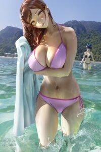 Rating: Safe Score: 62 Tags: bikini kanojo_okarishimasu mizuhara_chizuru sarashina_ruka swimsuits towel wet zumi_(zumidraws) User: BattlequeenYume