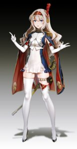 Rating: Safe Score: 148 Tags: banner_of_the_maid heels quuni sword thighhighs uniform User: Dreista