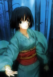 Rating: Safe Score: 20 Tags: kara_no_kyoukai kimono ryougi_shiki takeuchi_takashi type-moon User: fireattack