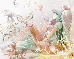 Rating: Safe Score: 39 Tags: hatsune_miku thighhighs vocaloid zerokichi User: mula3