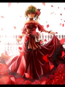 Rating: Safe Score: 50 Tags: dress kazami_yuuka shironeko_yuuki touhou User: Mr_GT