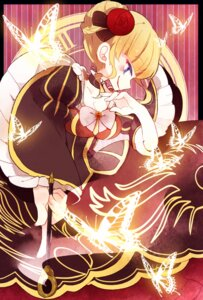 Rating: Safe Score: 9 Tags: beatrice cleavage dress ponita umineko_no_naku_koro_ni User: charunetra