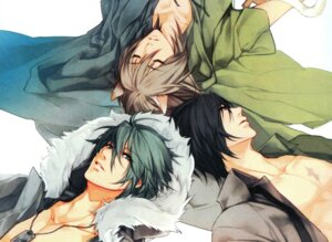 Rating: Safe Score: 6 Tags: akira_(togainu_no_chi) animal_ears crossover konoe_(lamento) lamento male sakiyama_youji sweet_pool togainu_no_chi User: mattiasc02