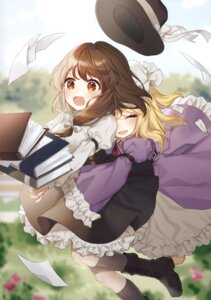 Rating: Safe Score: 30 Tags: hajin maribel_han touhou usami_renko yuri User: Radioactive