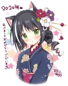 Rating: Safe Score: 26 Tags: animal_ears kimono korie_riko kyaru neko princess_connect princess_connect!_re:dive User: fairyren