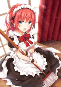 Rating: Safe Score: 85 Tags: maid moe2015 yon_(letter) User: KazukiNanako