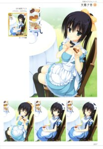 Rating: Safe Score: 62 Tags: amagiri_yune amairo_islenauts cleavage maid muririn thighhighs yuzu-soft User: Twinsenzw