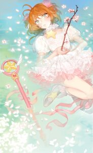 Rating: Safe Score: 10 Tags: bloodypepper card_captor_sakura dress kinomoto_sakura weapon wet User: Mr_GT