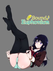 Rating: Questionable Score: 27 Tags: feet hibike!_euphonium kousaka_reina pantsu pantyhose sbel02 seifuku transparent_png undressing User: hiroimo2
