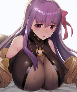 Rating: Safe Score: 61 Tags: armor cleavage fate/grand_order katsudansou passion_lip see_through User: fairyren