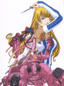 Rating: Safe Score: 3 Tags: lachette_altair sakura_taisen shinguuji_sakura User: Radioactive