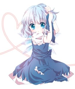 Rating: Safe Score: 30 Tags: cirno kuromame_(8gou) touhou User: Nekotsúh