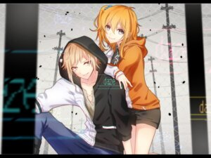 Rating: Safe Score: 25 Tags: kagerou_project kano_shyuuya kisaragi_momo mekakucity_actors natsu_tora sweater User: charunetra