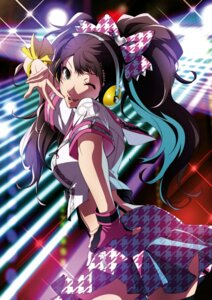 Rating: Safe Score: 44 Tags: bikini_top headphones kujikawa_rise megaten open_shirt persona persona_4 persona_4:_dancing_all_night thighhighs User: Arkheion