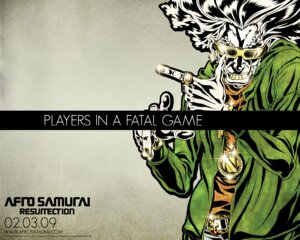 Rating: Safe Score: 2 Tags: afro_samurai okazaki_takashi wallpaper User: nanashioni